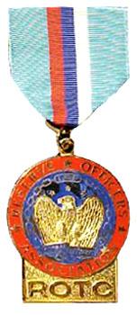 Beautiful Reserve Officers Association Award